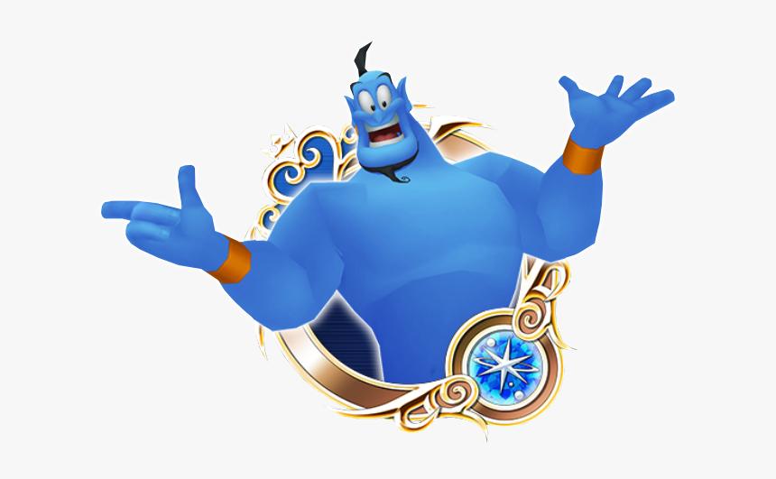 Genie - Kingdom Hearts Aqua Medal, HD Png Download, Free Download