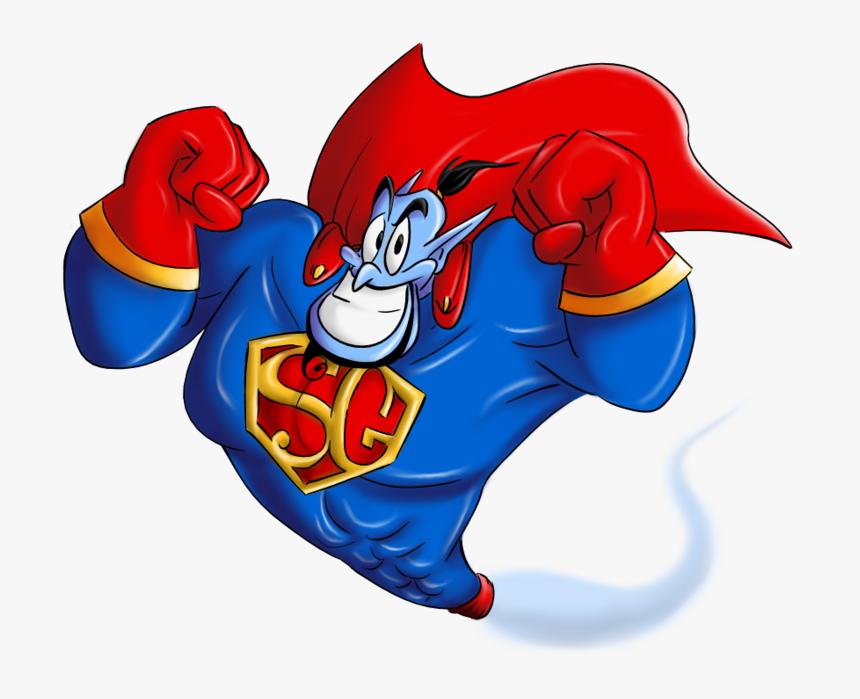 Super Genie Aladdin, HD Png Download, Free Download
