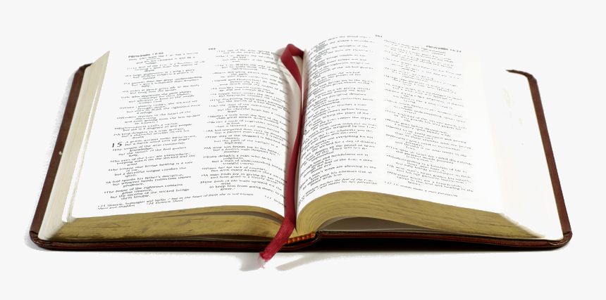 Open Bible - Open Bible Transparent Background, HD Png Download, Free Download