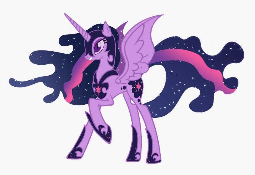 Moonlight Clipart Twilight My Little Pony Twilight Nightmare Moon Hd Png Download Kindpng