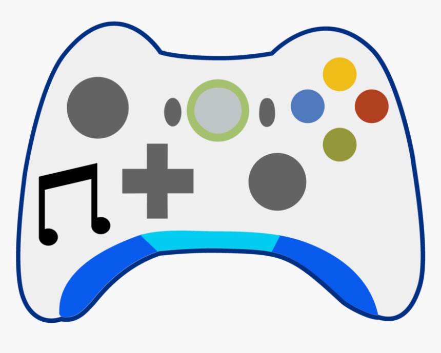 Clip Art Cartoon Video Game Controller Transparent Xbox One Controller Cartoon Hd Png Download Kindpng