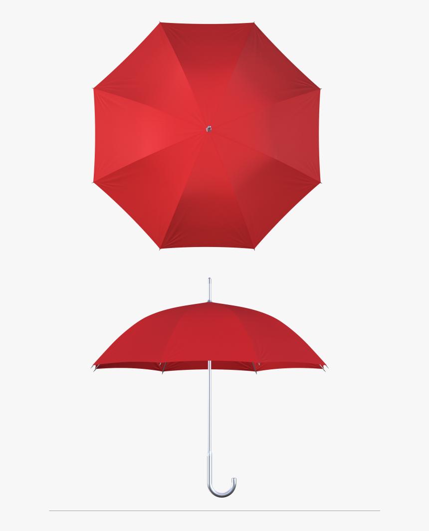 Aluminum Frame Red Umbrella - Umbrella, HD Png Download, Free Download