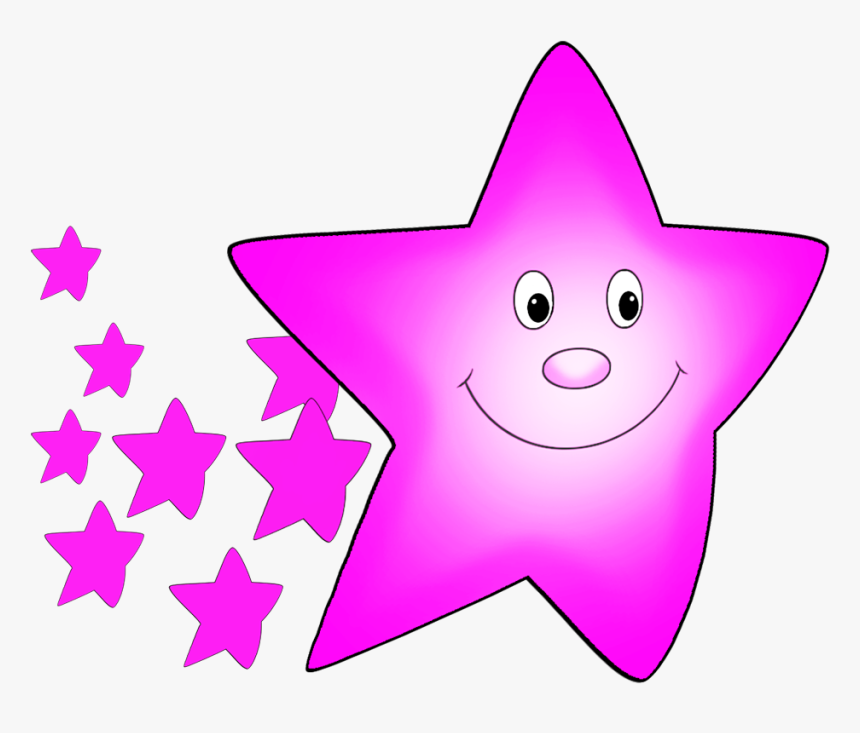 Transparent Pink Star Png - Star Clipart Stars Cartoon, Png Download, Free Download