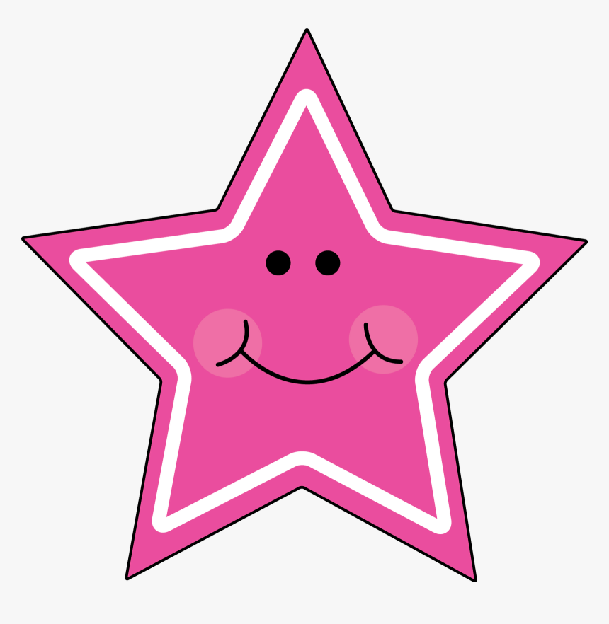 Cute Star Clipart Clip Art Of Star Clipart - Cute Clipart Shapes, HD Png Download, Free Download