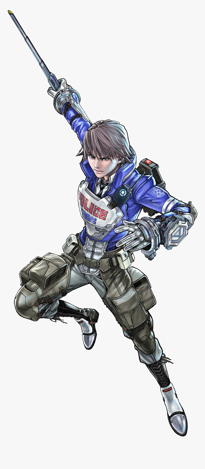 Astral Chain Wiki - Astral Chain Main Character, HD Png Download, Free Download