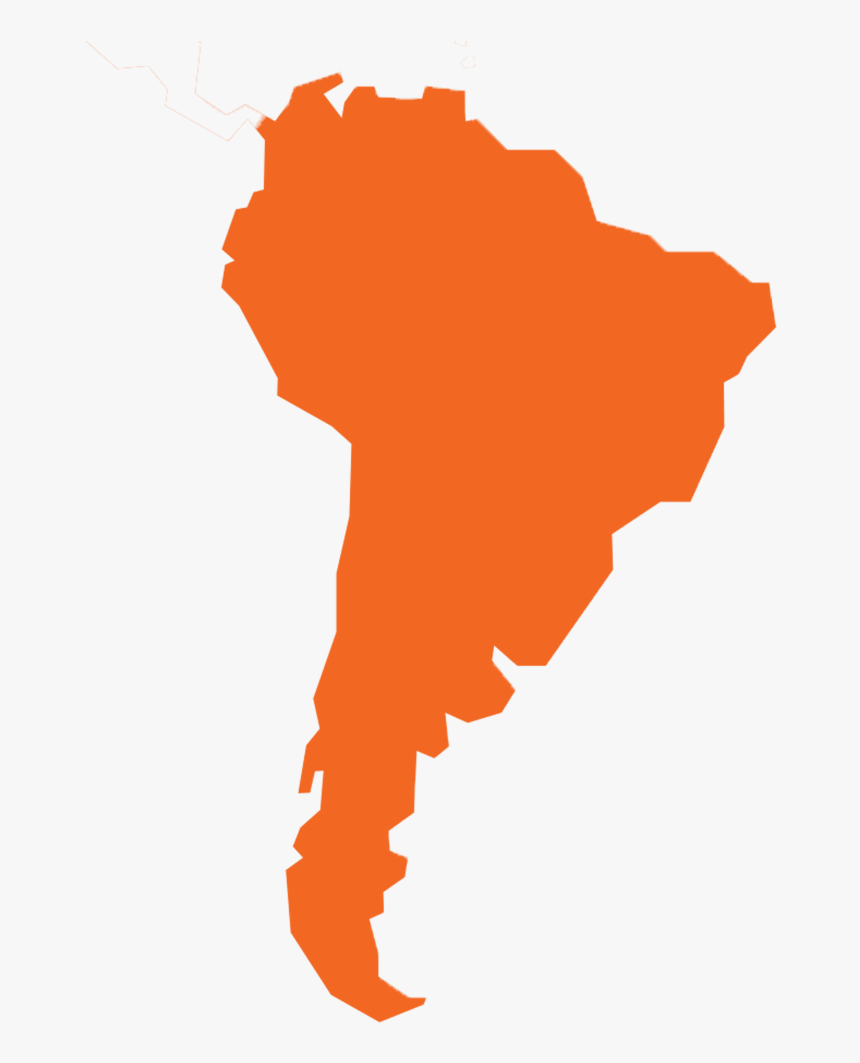 South America - Spanish South America States, HD Png Download, Free Download