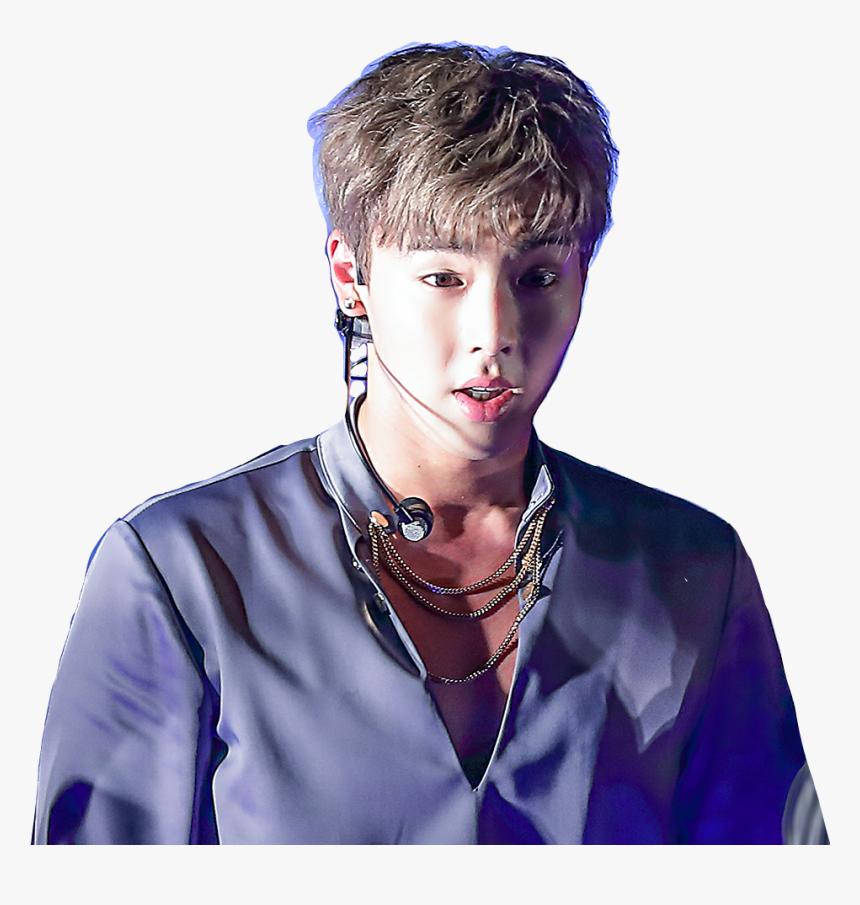 Transparent Hyungwon Png - Transparent Shownu Png, Png Download, Free Download
