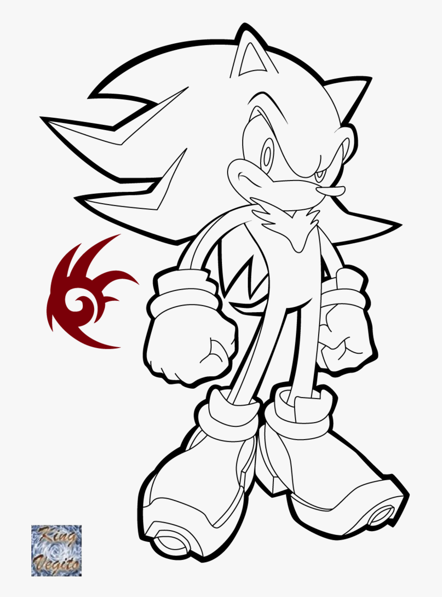 Transparent Sonic Boom Png Shadow The Hedgehog Coloring Pages Png Download Kindpng
